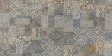 Stone Wall Background, Vintage Patchwork