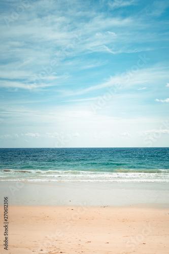 Foto op Plexiglas Strand Sea beach Summer beach relaxing seaside