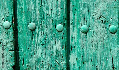 Vieille porte à Baños de Cerrato, Espagne