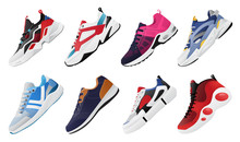 New Fitness Sneakers Set, Fashion Shoes For Training Running Shoe. Sport Shoes Set