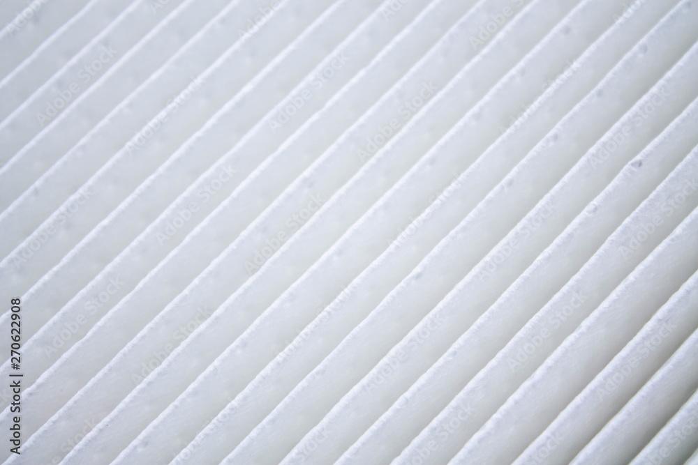 Fototapeta new automobile air filter background