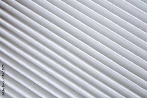 Fotografía new automobile air filter background