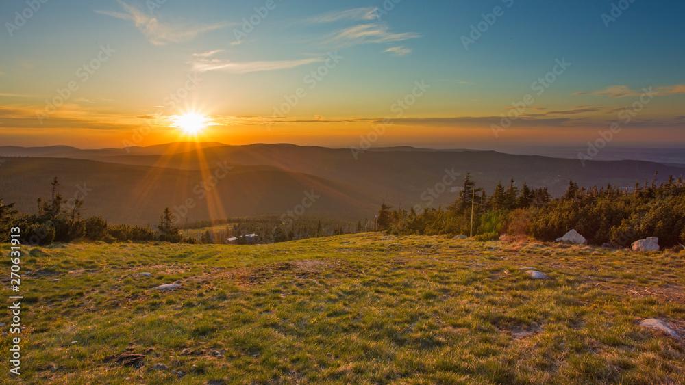 Fototapety, obrazy: Karkonosze - Góry Sudety