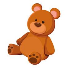 Teddy Bear Toy Icon Cartoon