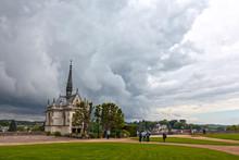 The Chapel Of Saint Hubert At Chateau Ambroise