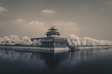 Forbidden City_in Infrared Light, 850nm