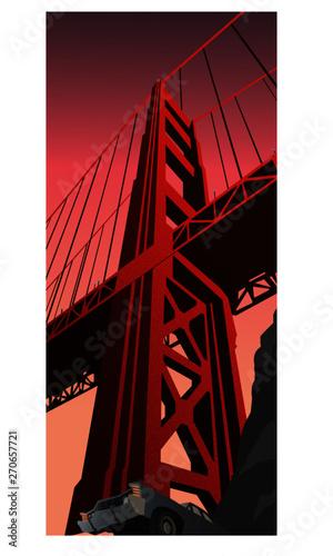 Fotografia Golden Gate Bridge