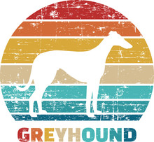 Greyhound Vintage Retro