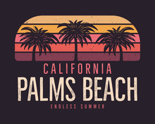 California Palms Beach Graphic...