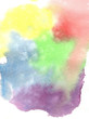 watercolor colorful rainbow abstract background