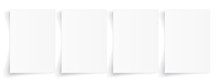 Blank A4 Sheet Of White Paper ...