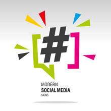 Social Media Modern Colorful H...