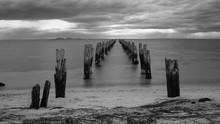 Black And White Photo Of Aband...