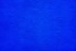 Leinwanddruck Bild - Blue Wall Abstract Background Mexican Building Oaxaca Mexico