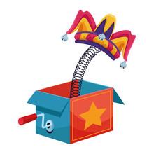 Joke Surprise Box With Jester ...