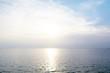 Beautiful seascape of nature sunset sky.