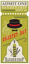 Ticket For Barbershop Quartet Day