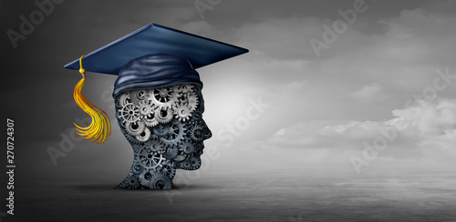 Concept Of Business Education Wallpaper Mural