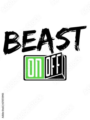 Fotografija beast mode monster bodybuilder stark kämpfer fitness training muskeln on off sch