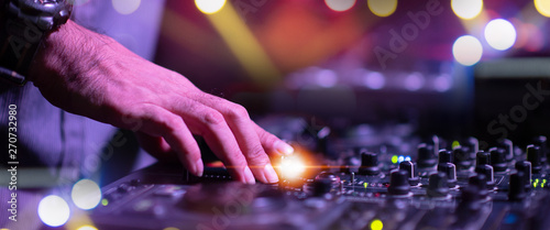 Concert On Stage Show, Entertainment Music Light and Sound, Concert Festival Music, Event Management Performance. Abstract Blur, Bokeh, for Background.  - 270732980