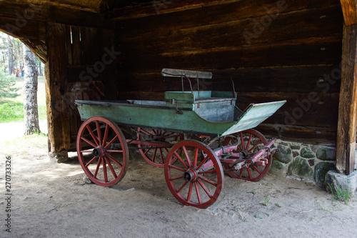 stary wóz Canvas Print