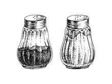 Hand Drawn Salt And Pepper Sha...