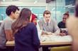 Multiethnic startup business team having meeting