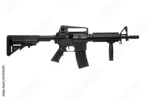Large picture of an isolated weapon AR-15 Fototapete
