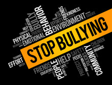 Stop Bullying Word Cloud Colla...