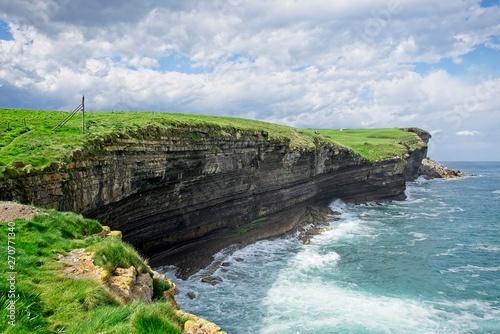 El Bolao cliffs in Northern Spain