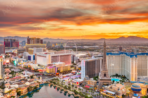 Photo  Las Vegas, Nevada, USA Skyline