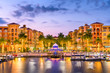 canvas print picture - Naples, Florida, USA Skylinee