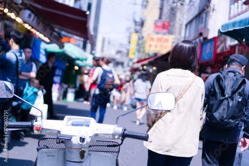 Fényképezés Tsukiji fish market in Tokyo