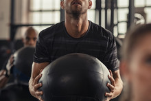 Functional Fitness Workout At Gym