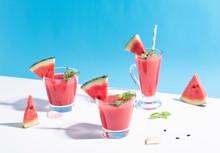 Fresh Water Melon Juice And Wa...