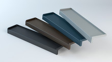 Metal Windowsills - 3D Illustr...