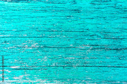 Valokuva  Green Grunge Wooden Background