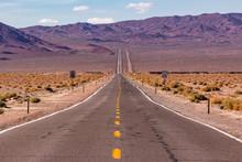 Long Desert Highway Leading In...