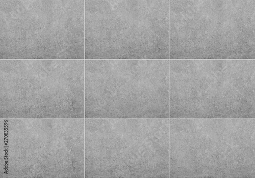 Poster Concrete Wallpaper tiled wall background , grey stone / concrete texture -