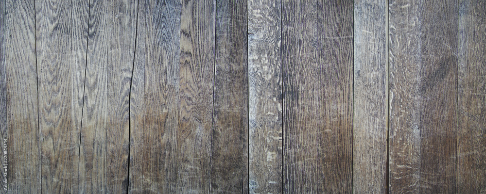 Fototapety, obrazy: Old and weathered wood wall vintage retro style seamless background and texture
