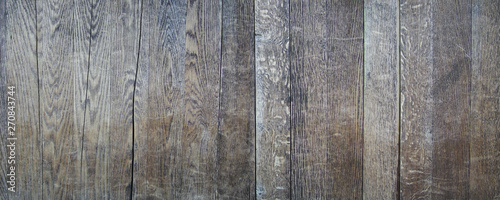 Obraz Old and weathered wood wall vintage retro style seamless background and texture - fototapety do salonu