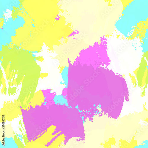 Multi-color seamless vector background  Abstract colored texture