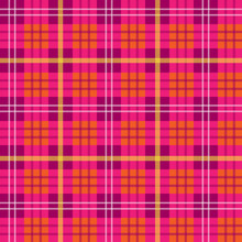Colorful Vibrant Tartan Plaid ...