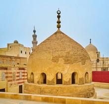The Shabby Cupola Of Amir Khayrbak Complex, Cairo, Egypt