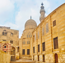 The Mosque And Residence Of Amir Khayrbak Funerary Complex, Cairo, Egypt