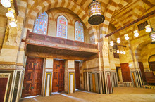 Architecture Of Khayrbak Mosque, Cairo, Egypt