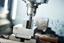 Milling Cnc Machine At Metal W...