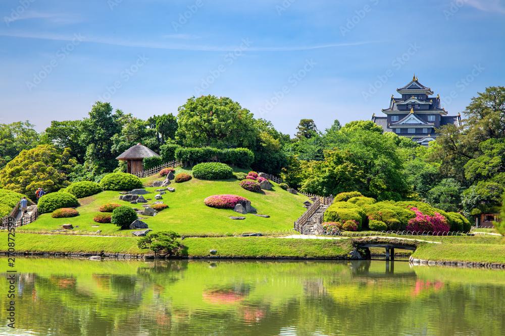 Korakuen Park, Okayama, Japan.
