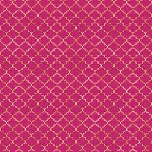 Quatrefoil Seamless Pattern - Classic Quatrefoil Repeating Pattern Design
