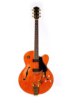 Electric Guitar, Red And Orang...
